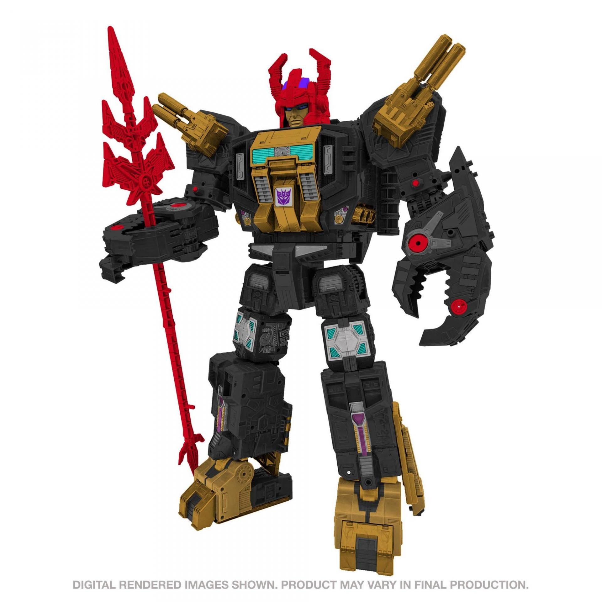 Transformers hasbro generations selects titan black zarak