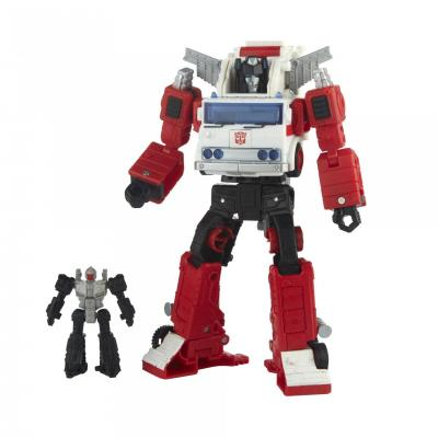 TRANSFORMERS - Hasbro - Generations Selects Voyager WFC-GS26 Artfire & Nightstick