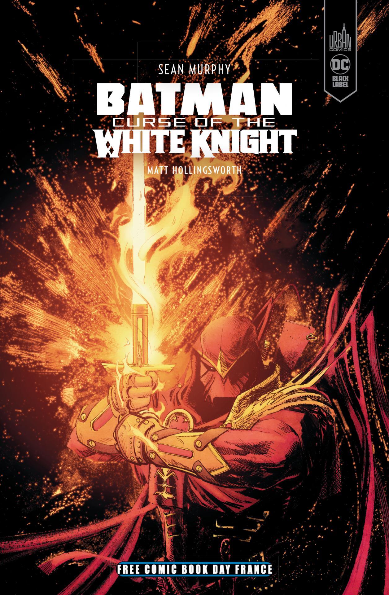 Urban comics fcbd 2020 batman curse of the white knight
