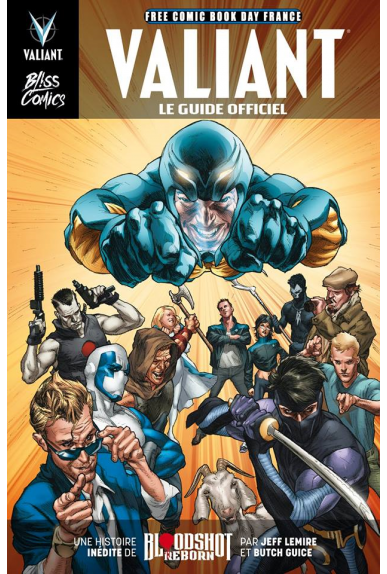 Valiant le guide officiel fcbd 2016