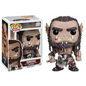 Warcraft funko pop movies durotan vinyl figure 10cm
