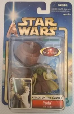 Star Wars (Saga Collection) - Hasbro - Yoda (Jedi Master) 10cm