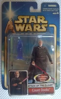 Star Wars (Saga Collection) - Hasbro - Count Dooku (Dark Lord) 10cm