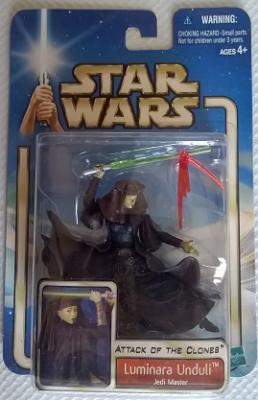 Star Wars (Saga Collection) - Hasbro - Luminara Unduli (Jedi Master) 10cm