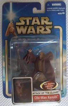 Star Wars (Saga Collection) - Hasbro - Obi-wan Kenobi (Jedi Starfighter Pilot) 10cm
