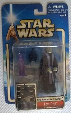 Star Wars (Saga Collection) - Hasbro - Lott Dod (Neimoidian Senator) 10cm