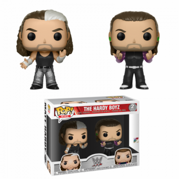 WWE - FUNKO Pop WWE - The Hardy Boyz 2-Pack Vinyl Figure 4-inch