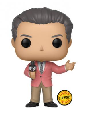 WWE - FUNKO POP WWE - Vince McMahon (In Suit) Vinyl Figure 10cm Chase