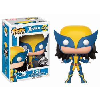 X-MEN - Funko POP Marvel - X-23 Vinyl Figure 10cm
