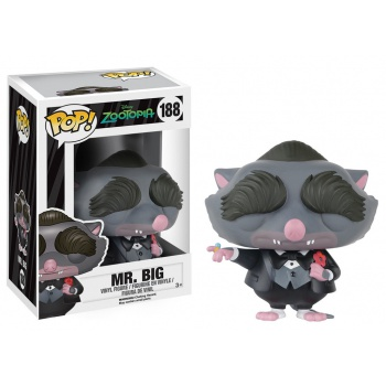 Zootopie figurine pop mr big vinyl figure 8cm